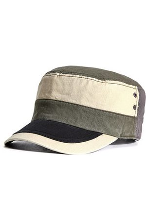 Newchic New Men Cotton Breathable Military Hat Outdoor Casual Sunscreen Training Cap