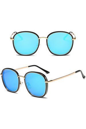 Newchic Fashion Retro Women Anti-UV Polarized Sunglasses Casual Travel Sunscreen Eyeglasses