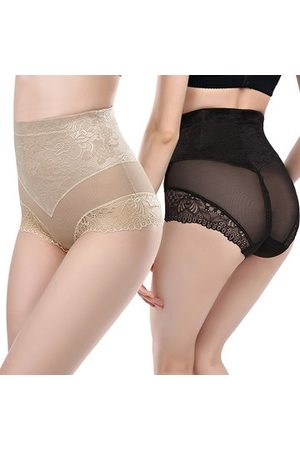 Newchic Sexy Lace Jacquard High Waist Lingerie Slimming Underwear Fitness Shapewear