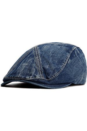 Newchic Men Washed Cotton Cowboy Berets Hat Outdoor Casual Travel Sunshade Flat Caps Forward Hat