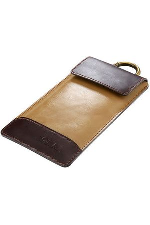 Newchic 5.5/4.7 Inch PU Leather Phone Bag Universal Multi-functional Phone Cover Wallet For Men