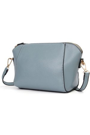 Newchic Vintage Pure Color Shell Phone Bag Crossbody Bag Shoulder Bags For Women