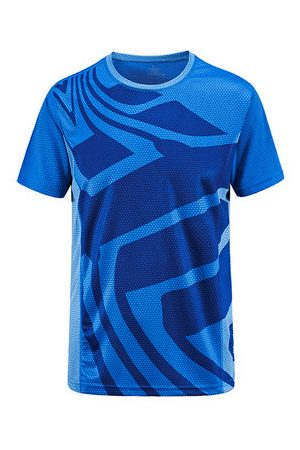 Newchic Outdoor Sports Quick-drying Short-sleeved Fitness Cycling Yoga T-shirt for Men