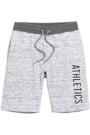 Newchic Mens Drawstring Letter Printed Knitted Breathable Thin Cusual Beach Shorts Sport Shorts