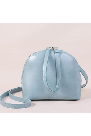 Newchic Women Clutches - Candy Color PU Leather Mini Shell Shoulder Bag Crossbody Bag Clutch For Girl Women