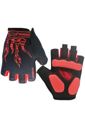 Newchic Men Sports Accessories - Men Light Breathable Sports Half Finger Gloves Mountain Road Bicycles Riding Gloves