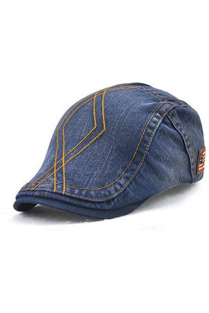 Newchic Men Hats - Mens Vintage Washed Cotton Berets Hat