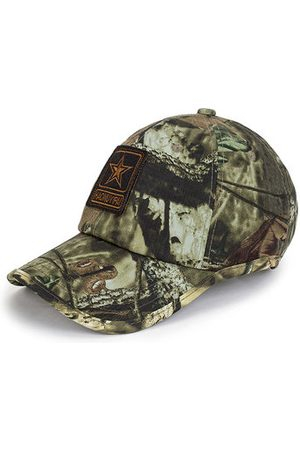 Newchic Men Summer Camouflage Cotton Baseball Cap Outdoor Sports Breathable Military Hat