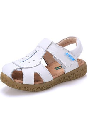 Newchic Boys Breathable Soft Leather Hiking Beach Sandals