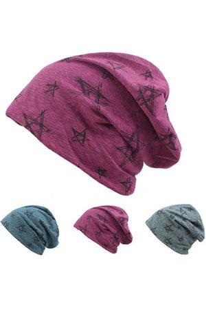 Newchic Men Comfortable Soft Cotton Knitted Beanies Hat Outdoor Leisure Breathable Hedging Cap