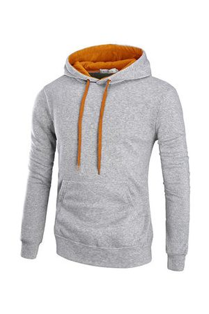 Newchic Mens Casual Cotton Hoodie
