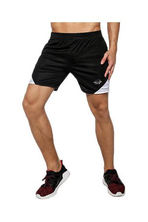Newchic Mens Summer Gym Breathable Joggers Fitness Running Casual Sport Shorts