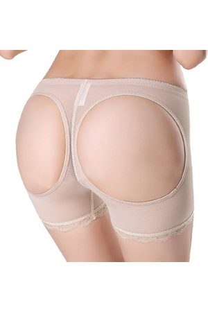 Newchic Seamless Expose Hollow Safety Pants Breathable Underwear