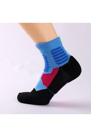 Newchic Mens Breathable Sweat Towel Bottom Thicken Sports Scok Outdoor Climbing Cycling Socks