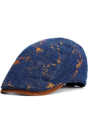 Newchic Men Hats - Men Vintage Cotton Beret Cap Autumn Casual Warm Sun Hat