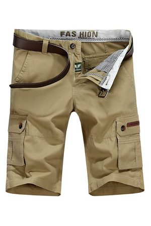 Newchic Multi-pocket Casual Cotton Cargo Shorts