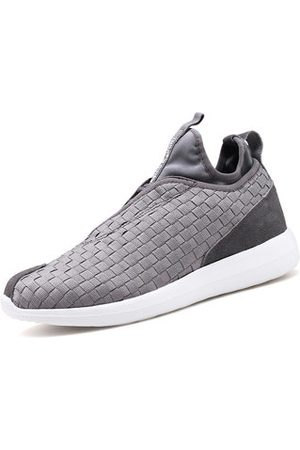 Newchic Men Shoes - Men Weave Light Slip On Breathable Leisure Running Sport Casual Shoes