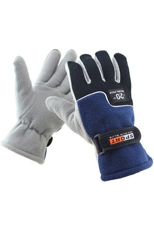 Newchic Men Outdoor Sports Windproof Snowboard Gloves Winter Warm Full Finger Riding Motorcycle Ski Gloves