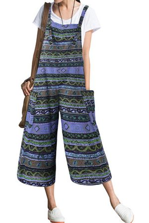 Newchic Bohemian Strap Loose Jumpsuits