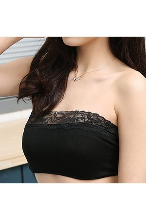 Newchic Women Strapless & Multiway Bras - Bandeau Wireless Modal Comfy Bras