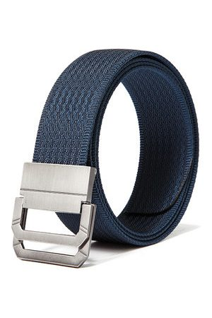 Newchic 130CM Mens Double Ring Nylon Outdoor Military Tactical Belts Casual Canvas Alloy Buckle Jeans Belt