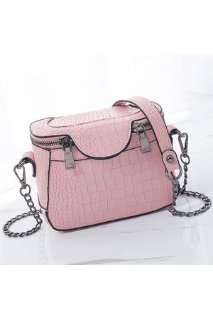 Newchic Stylish Stone Pattern Square Shoulder Bag Phone Bag Chain Crossbody Bag For Women