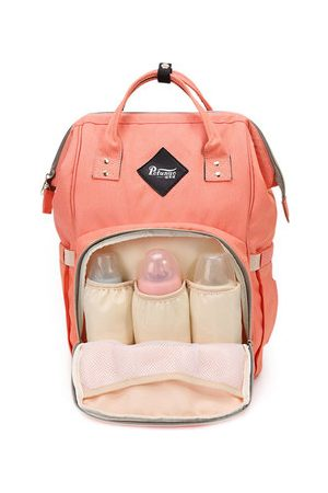Newchic Nylon Casual Mommy Portable Backpack Shoulder Multifunctional Bag