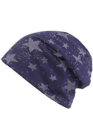 Newchic Men Breathable Cotton Skullies Beanie Hat Casual Five-Pointed Star Hedging Cap