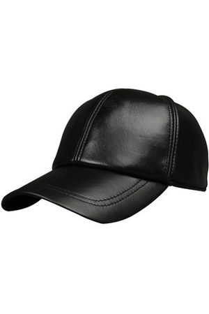 Newchic Men Hats - Men Black Sheepskin Baseball Cap Adjustable Outdoor Sports Snapback Trucker Hats