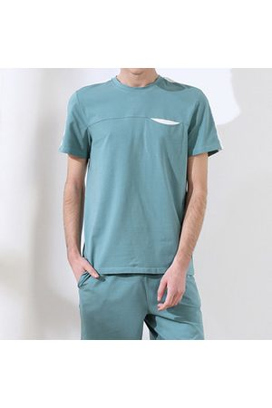 Newchic Men Short Sleeve - Breathable Loose Short Sleeve Pajama Sets