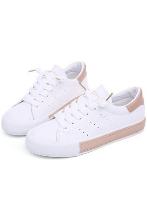 Newchic Women Shoes - M.GENERAL Lace Up Round Toe Soft Canvas Shoes For Women