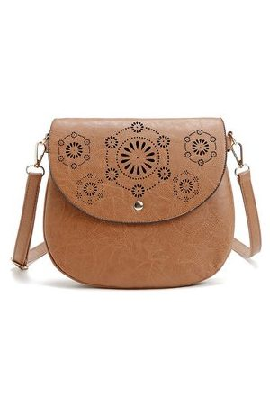 Newchic Elegant Hollow Out PU Leather Crossbody Bag Shoulder Bags For Women