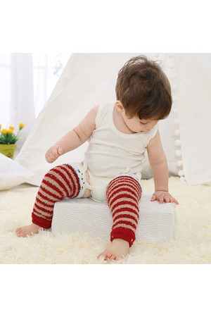 Newchic Baby Socks - Baby Leg Warmer Stripe Long Tube Socks Thick Knee High Pads Safety Crawling Knee Socks