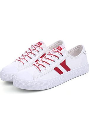 Newchic M.GENERAL Lace Up Casual White Sport All Match Running Sneakers For Women