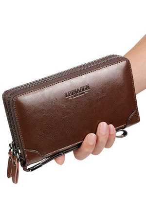 Newchic Vintage Genuine Leather Phone Bag Clutch Bag Wallet