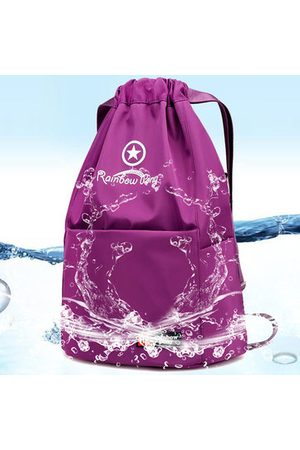 Newchic Women Sports Bags - Women Nylon Backpack Casual String Students Bags Fitness Bag