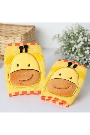 Newchic Baby Cotton Crawling Safety Knee Pads Thick Leg Warmer Elbow Protect Cute Cartoon Socks