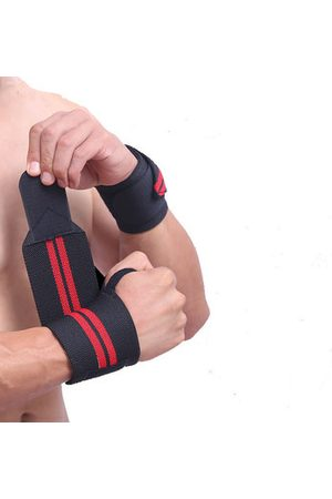 Newchic 1Pcs Sports Weightlifting Wrist Support Fitness Training Wrist Bands Straps Wraps For Men