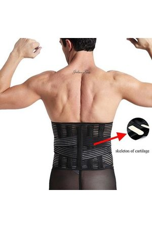Newchic Men Belts - Lumbar Support Waist Belt Abdominal Slim Belt