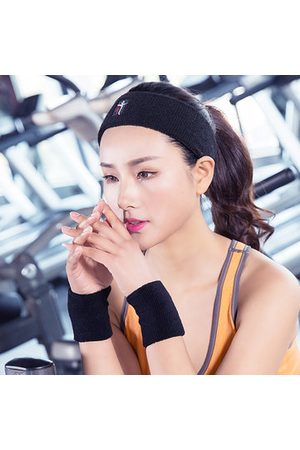 Newchic Women Sports Cotton Sweat Headband Outdoor Fitness Running Hairband