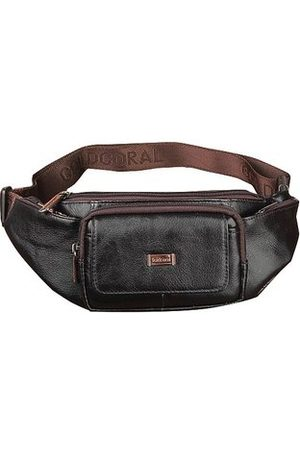 Newchic Genuine Leather Waist Bag Casual Business Crossbody Bag For Men