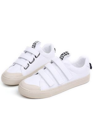 Newchic M.GENERAL Velcro Solid Color Soft Comfortable Casual Shoes For Women