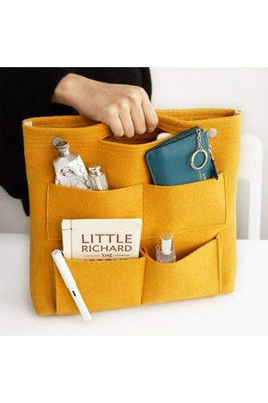 Newchic Bag in Bag Felt Multi-pockets Storage Bag