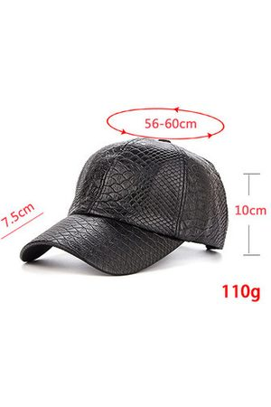 Newchic Crocodile Grain PU Leather Baseball Cap