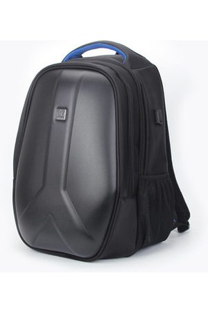 Newchic USB Backpack Casual Laptop Shoulder Bag PC Hard Shell Portable Rechargeable Backpack For Men