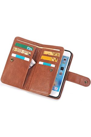 Newchic PU Leather 9 Card Slots Casual iPhone7/7Plus/6/6Plus/S7/S7 EDGE Phone Case Wallet Card Pack For Men