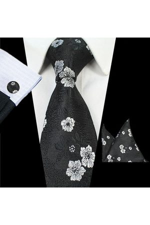 Newchic Men Bow Ties - Men Business Formal Necktie Wedding Jacquard Flowers Bow Tie
