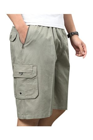 Newchic Multi-pocket Breathable Knee Length Cargo Shorts