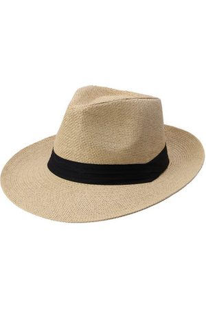 Newchic Men Hats - Trilby Straw Bucket Hat