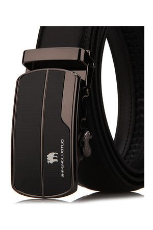 Newchic Business Genuine Cowhide Leather Belt Automatic Belt